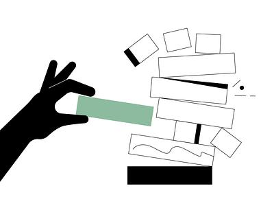 Cryptopedia - Risk Management risk cryptocurrency crypto black design flat line animation illustrator adobe illustration