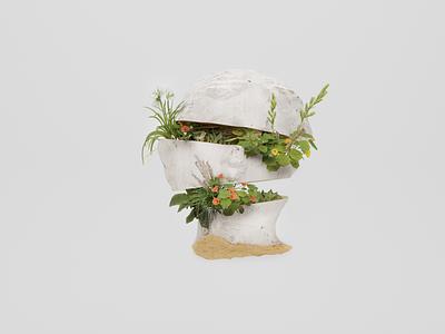 Peace of mind design cyclesrender blender 3d 3d art illustration