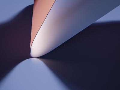 Render #3 - Touch curve color 3d art 3d blender illustration