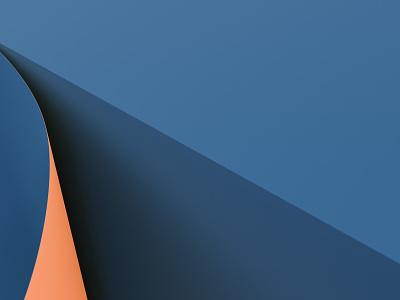 Render #4 - Fold render color blender 3d art 3d illustration