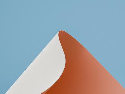 Render #5 - Mountain color render 3d 3d art blender illustration