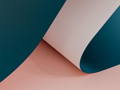 Render #6 - Paper colorful cycles render 3d art 3d blender color illustration