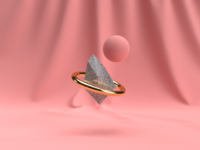 Random 3D Tests on Dimension