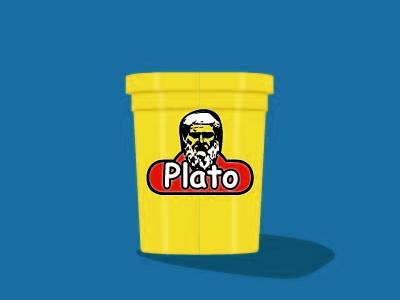 ComicSans Challenge: Plato play-doh
