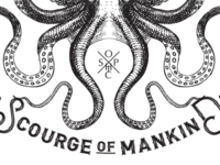 SOPHIC Scourge Of Mankind t-shirt design