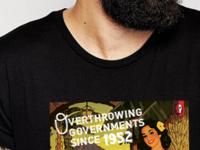 SOPHIC Coup D'Etat t-shirt design