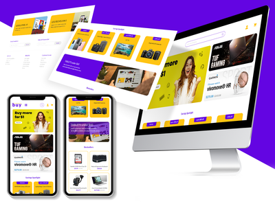 UI/UX design E-commerce website Homepage e-commerce design webshop ecommerce photoshop website web ux ui minimal flat design