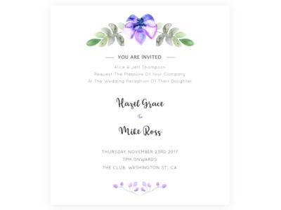 Wedding invites by Shivika Thapar Dribbble