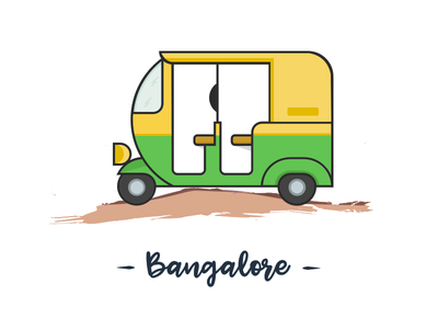 City series coming through auto auto rickshaw bangalore cities ui design ui challenge