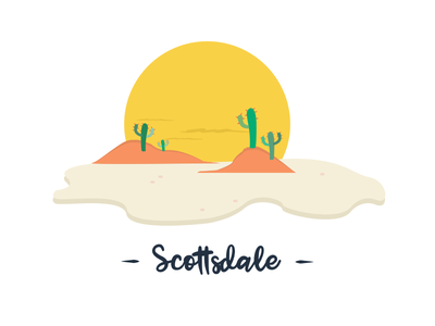 Almost time to visit the sunny side of AZ travel hot days desert sun cactus ui challenge ui exploration