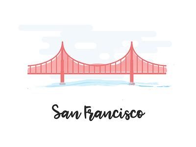 Hello dream city! silicon valley bridge inspiration series visual design ui design golden gate