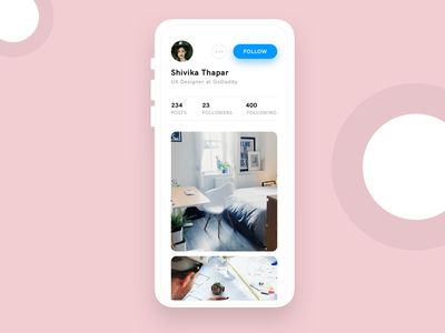 Instagram refresh app ui inspiration design inspiration ui exploration profile design profile instagram refresh ui concept design visual design ui design mobile app design ux ui  ux