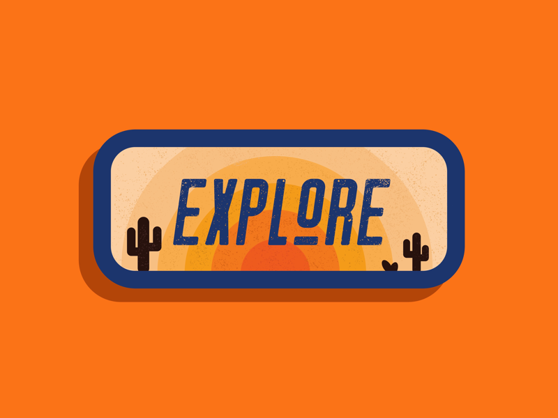 Explore the world vector patches