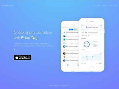 Check app price history with Price Tag price app store iphone ios