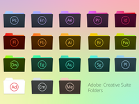 Folder icons for Adobe Creative Suite