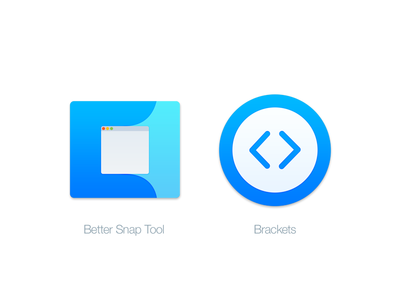 Mac Replacement Icons: Better Snap Tool & Brackets