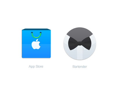 Mac Replacement Icons: App Store & Bartender
