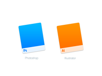 Mac Replacement Icons: Photoshop & Illustrator
