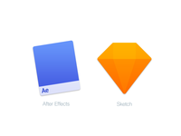 Mac Replacement Icons: After Effects & Sketch