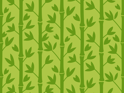 Bamboo Seamless Vector Pattern
