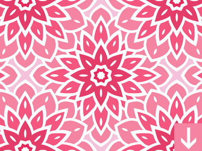 Pink flower seamless pattern by download pattern dribbble pink flower seamless pattern dribbble mightylinksfo