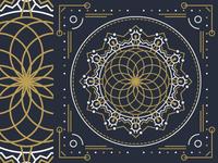 Free Sacred Geometry Vector Mandala