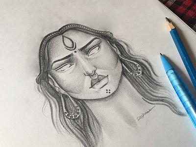 Pencil  artbyvishnu mallu banglore sundayfunday sunday india instaart illustration colour pencil digital art
