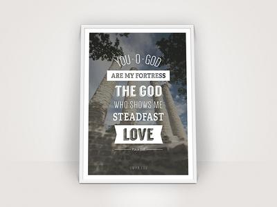 Steadfast Love Poster