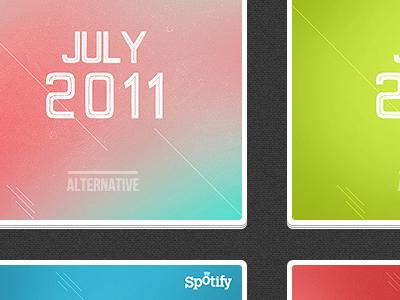 My personal playlists spotify playlist texture grid layers
