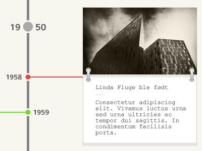 Timeline timeline courier dot light textbox