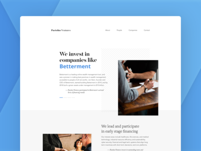Pactolus Ventures Homepage