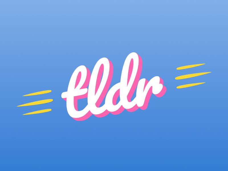 tldr logo typography branding vector design logotype logo