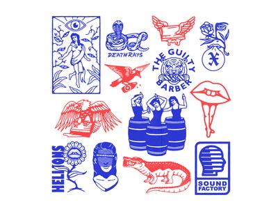 Logo's, Spot Illustrations & Graphics
