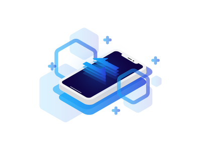 Cryptocurrency icon set cryptocurrency blockchain illustrations