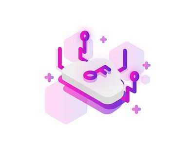 Cryptocurrency icon set icon illustrations cryptocurrency blockchain