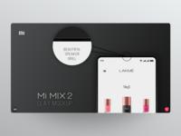 Mi MIX 2 clay mockup *Part 3/4*
