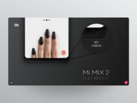 Mi MIX 2 clay mockup *Part 4/4*