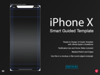 iPhone X Smart Guided Template