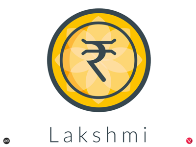 "Logo concept for ""Lakshmi"" - India's Own Cryptocurrency"
