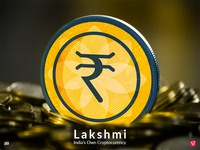 """Logo concept for """"Lakshmi"""" - India's Own Cryptocurrency"""