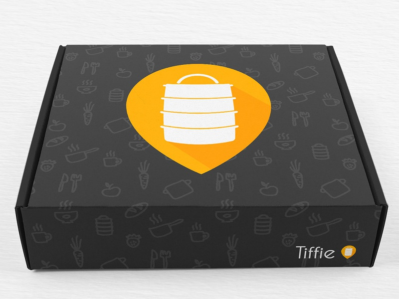 Tiffie Logo Design photshop illustrator brand identity startup foodtech appdesign foodapp food tiffie logodesign virtuosodesigner virtuosoalpha