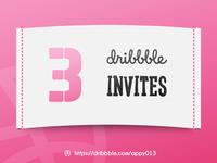 Dribbble Invite