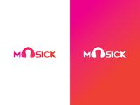 Moosick Logo Concept