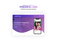 WeddingAsia - Website Redesign Concept