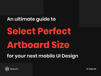 An ultimate guide to select the perfect artboard size for mobile