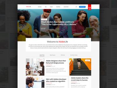 Adobe Life Blog