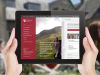 University Website Pitch