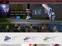 Sports website freebie full