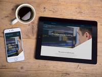 Mobile Website Desk