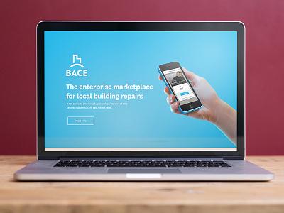 Local Building Repair Site website webdesign ui ux brand logo blue mobile app repairs service marketplace